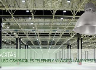 Minőségi led lámpákat rendelhet az áruházból.