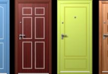 Remek áron vásárolhat festett bejárati ajtót.